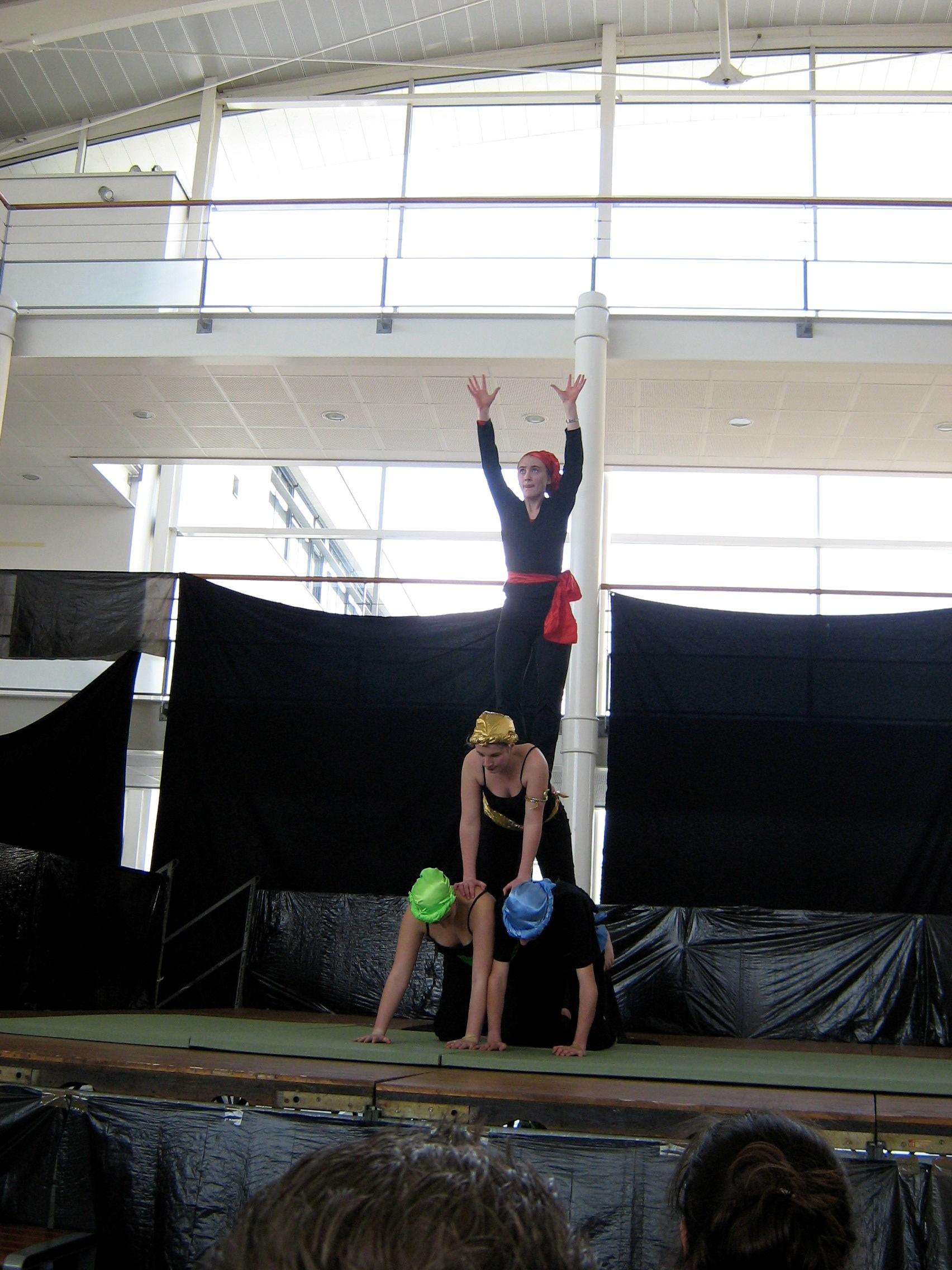 Club Cirque De L Ens Pyramides
